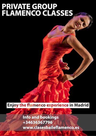 Private group Flamenco clasess iniciacion baile flamenco grupos Clase Particular de Flamenco