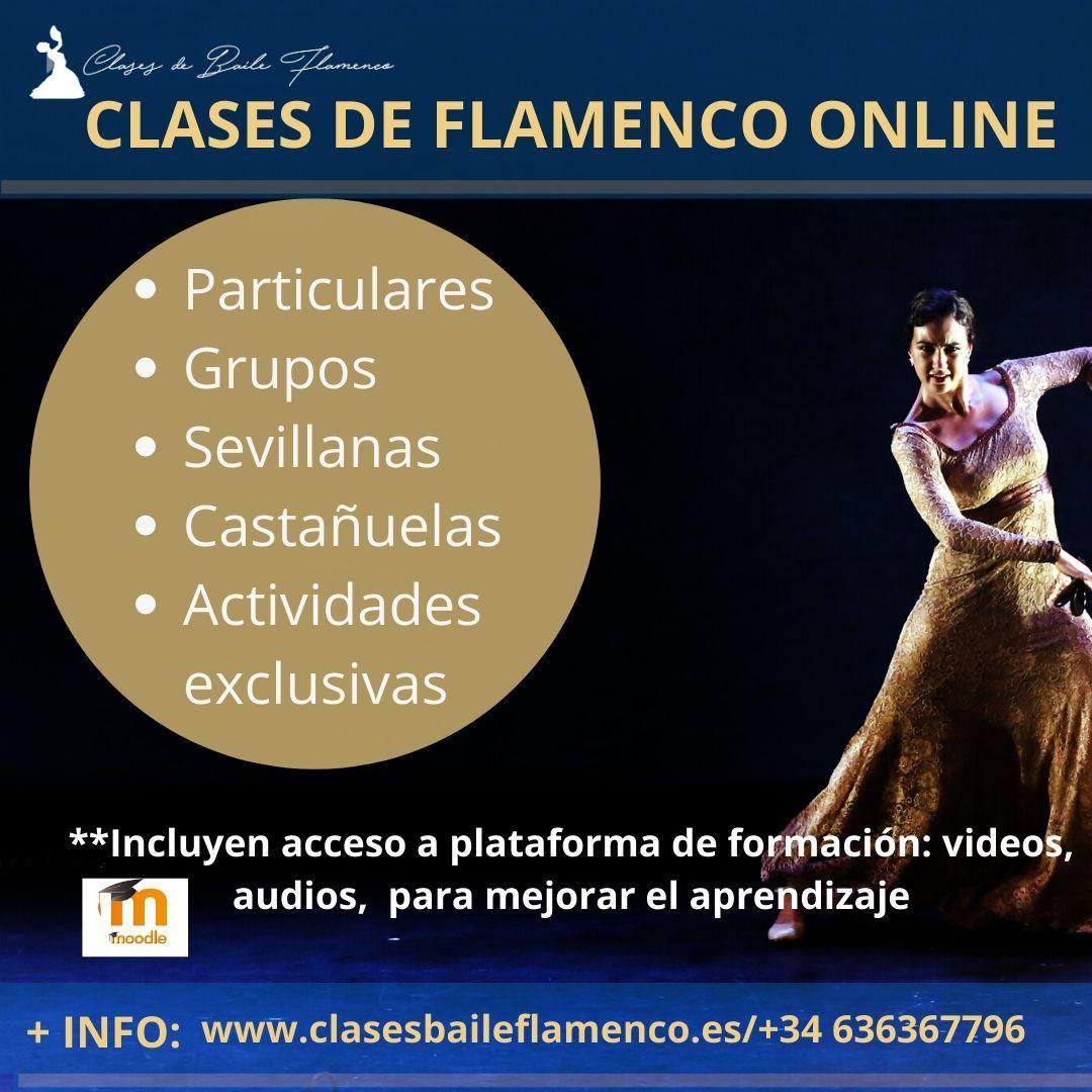 CURSOS y clases DE FLAMENCO ONLINE