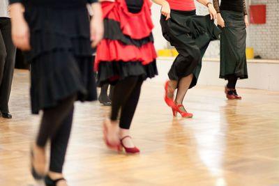 clases castañuelas online Flamenco Danza Española